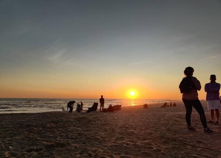 Israel Joffe sunset Long beach