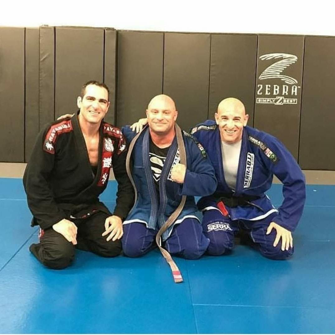 Israel Joffe FDA is also a black belt in Brazilian Juiitsu