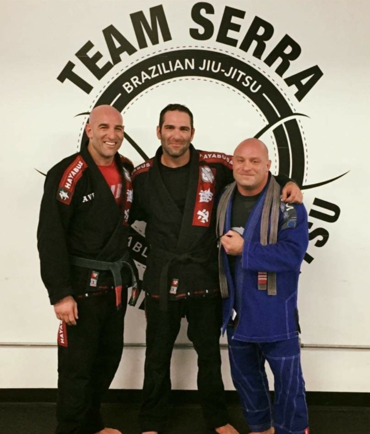 Avi Joffe, Israel Joffe and UFC Hall of Famer Matt Serra