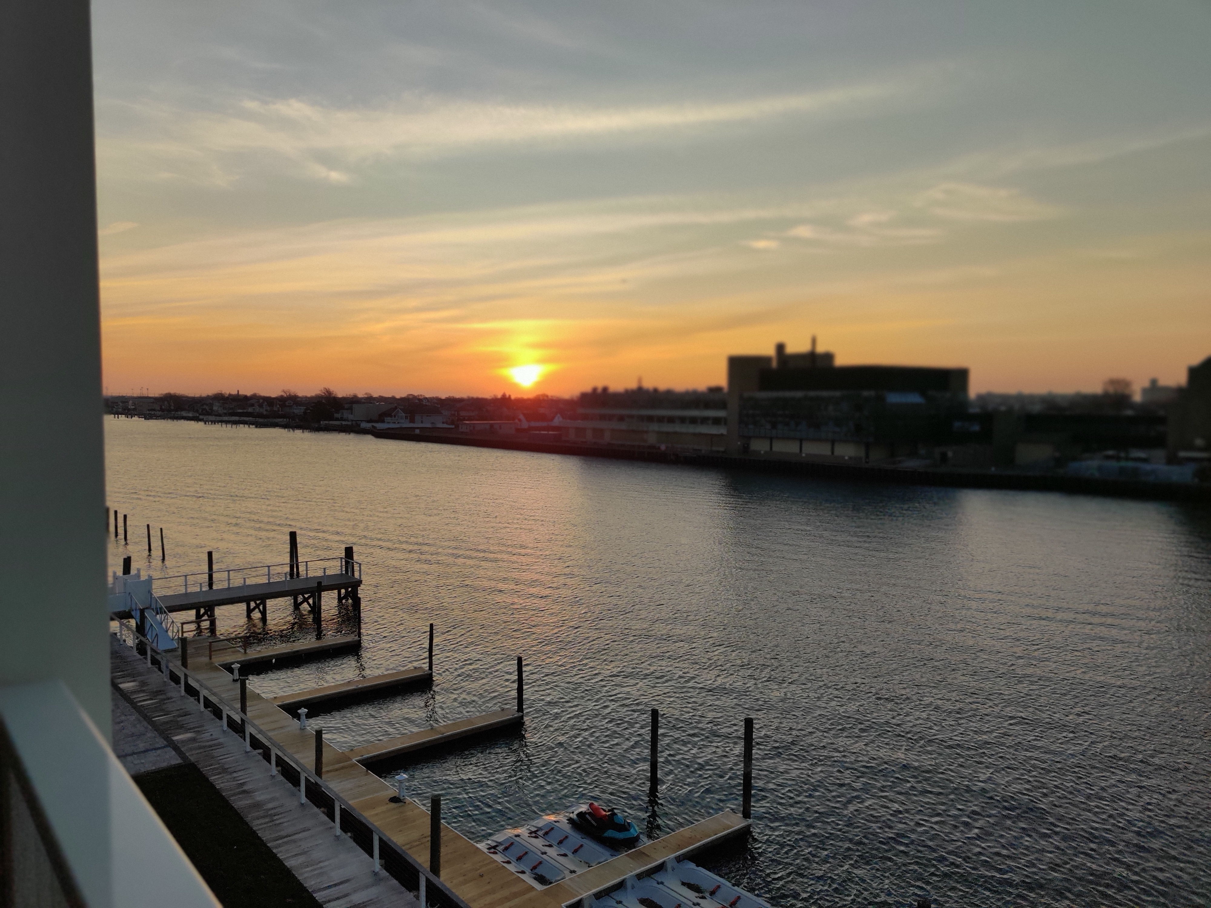 Israel Joffe and Long Beach sunrise